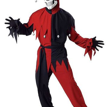 California Costumes Male Evil Jester Costume CC00746