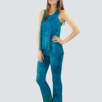 Blue Bamboo Pajama Set XS - 3XL