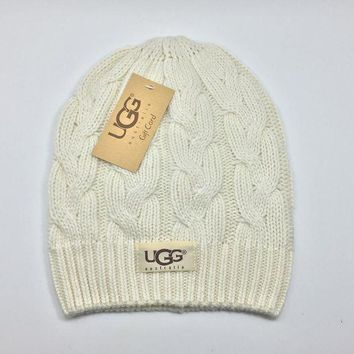 ONETOW Perfect UGG Hiphop Women Men Beanies Winter Knit Hat Cap