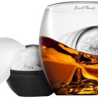 Wine Enthusiast on the Rock Glass with Ice Ball maker