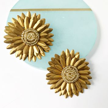 Large Gold Studs