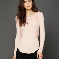 Free People FP X Soutache Waffle Scoop Thermal