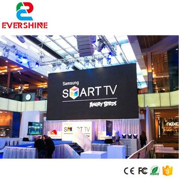 P2.976 indoor HD advertisement led video wall rental stage screen,meeting message led display