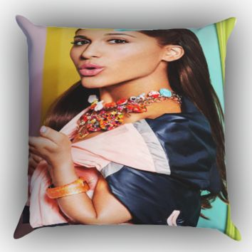 ariana grande Y1169 Zippered Pillows  Covers 16x16, 18x18, 20x20 Inches