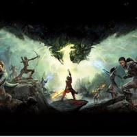 Dragon age 3 inquisition Decoration Canvas silk Poster