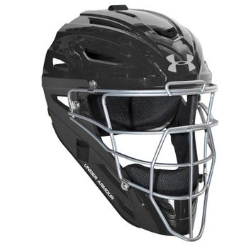 Under Armour Solid Pro Head Gear Adult Catchers Helmet