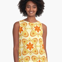 'floral pattern' Contrast Tank by KandM