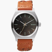Nixon Time Teller Watch Dark Copper/Saddle Woven One Size For Men 25994344901