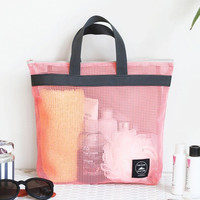 Iconic Travel mesh tote bag pouch ver.2