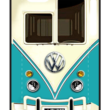 Blue Volkswagen VW with chrome logo iphone 4 4s, iPhone 3Gs, iPod Touch 4g case, Available for T-Shirt man and woman by Pointsale Project