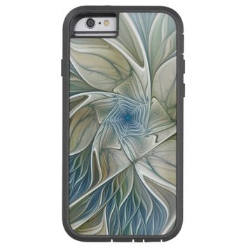 A Floral Dream Pattern Abstract Fractal Art Tough Xtreme iPhone 6 Case