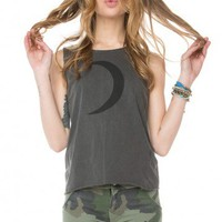 Brandy ♥ Melville |  Lyla Crescent Tank - Graphic Tops - Clothing
