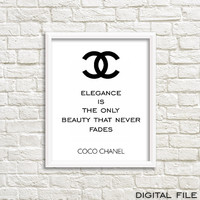 Chanel wall teen girl wall art teen girl gifts teen girl room decor teen room decor girls room decor tumbler room teen wall art coco channel