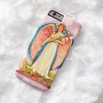 Claire Blossom Angel pink Barely There iPhone 6 Case