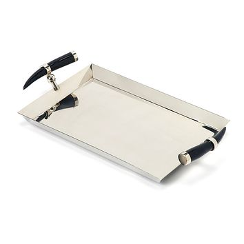 Butler Vito Stainless Steel Rectangular Serving Tray