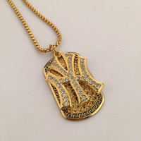 Jewelry New Arrival Shiny Gift Hip-hop Club Stylish Necklace [6542725443]