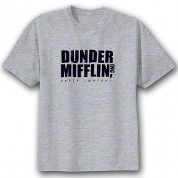 The Office Dunder Mifflin Mission Statement T-Shirt | NBC