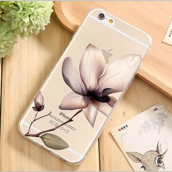 Creative Design Soft TPU Silica Gel Phone Shell Cover For Apple iPhone 5C 5 5S SE 6 6S 7 Plus Phone Protection Case Top Fashion