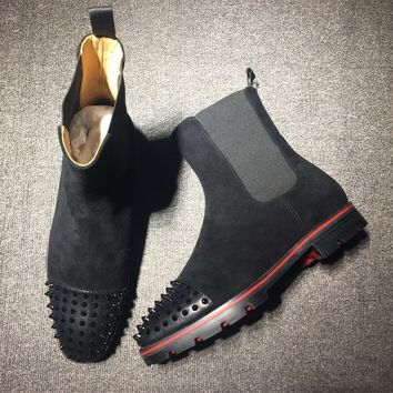 Cl Christian Louboutin Boots Style #2098 Sneakers Fashion Shoes-1