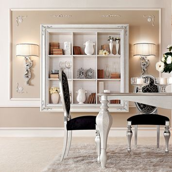 OPEN FLOATING BOOKCASE GLAMOUR | FLOATING BOOKCASE | GOTHA LUXURY ITALIAN STYLE
