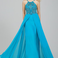 Jovani 24377 In Stock Turquoise Size 2 Prom Pageant Dress SALE