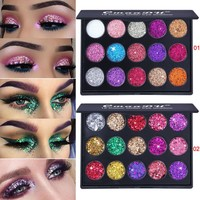 Shimmer Glitter Eye Shadow Powder Palette Matte Eyeshadow Cosmetic Makeup brochas maquillaje profesional pinceaux maquillage #7