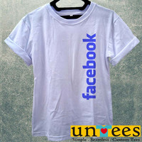 Low Price Women's Adult T-Shirt - Facebook Logo design