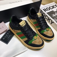 Gucci Women Men Fashion Flats Shoes Sneakers Sport Shoes