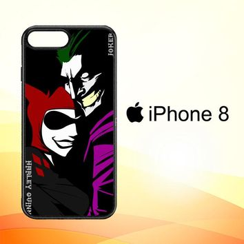 Harley Quinn And Joker C0021 iPhone 8 Case