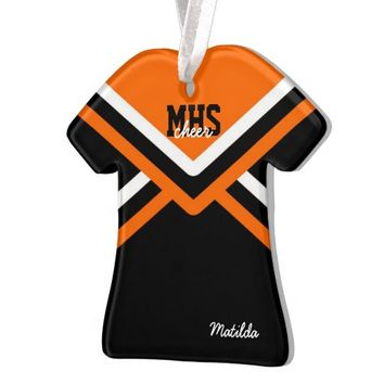 Cheerleader Uniform Acrylic Ornaments