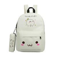 emoji bag school backpack youth kawaii printing backpack school bag cute emoji backpack emotion for teenagers sac a dos ecole