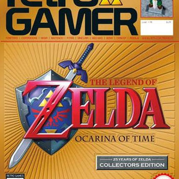 Retro Gamer Magazine 90 Legend Of Zelda Ocarina Of Time Collectors Edition