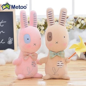 8.3 Inch Plush Cute Stuffed Brinquedos Baby Kids Toys for Girls Birthday Christmas Gift Bonecas Animal Rabbit Girl Metoo Doll