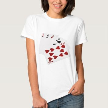 Poker Hands - Full House - Ace and Ten Shirt
