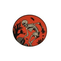 Dancing Skeleton Enamel Pin