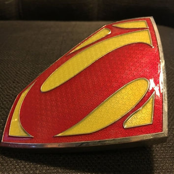 Sale - Vintage Superman Belt Buckle