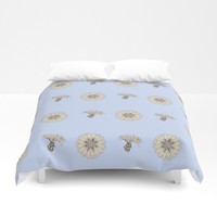 Cornflower Duvet Cover by anipani
