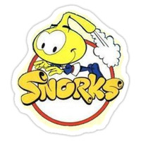'Snorks' Sticker by ArtbyMeganBrock