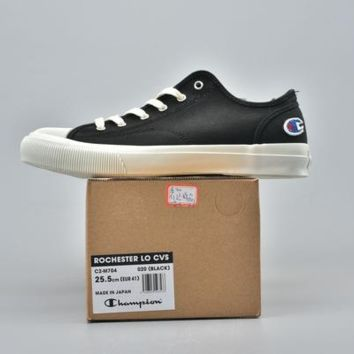 Kuyou Fa1972 Champion Logo Canvas Shoes For Men And Women