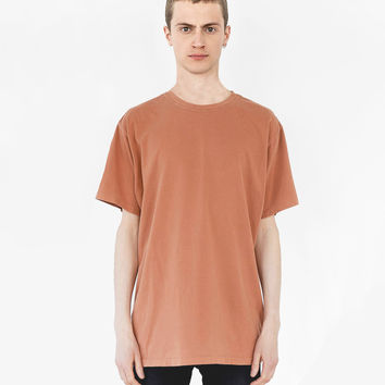 Pigment Dyed Basic Tee in Washed Rust