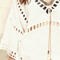 Feather Tassel Top
