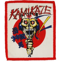 Kamikaze Men's Screen Printed Patch Red