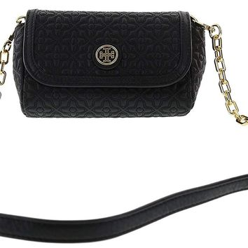 Tory Burch Bryant Quilted Leather Small Crossbody Handbag, Style No. 34029