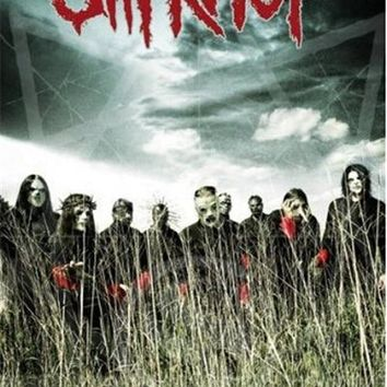 Music - Rock Canvas Fabric Poster Slipknot - All Hope Is Gone Canvas Poster