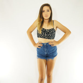 vintage bongo high wasted shorts