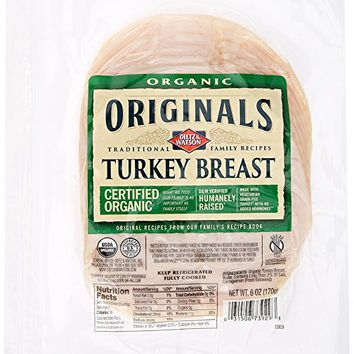Dietz & Watson, Originals Organic Turkey Breast, 6 oz