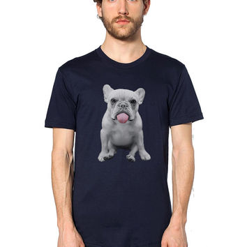 French Bulldog Shirt Men - French Bulldog TShirt - Funny T Shirt - French Bulldog Clothing - French Bulldog Art - Frenchie Clothes