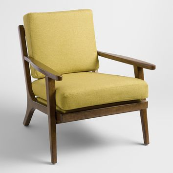 Muted Lime Green Xander Armchair
