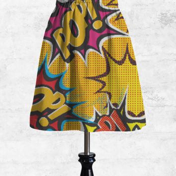 COMIC POP ART SKIRT