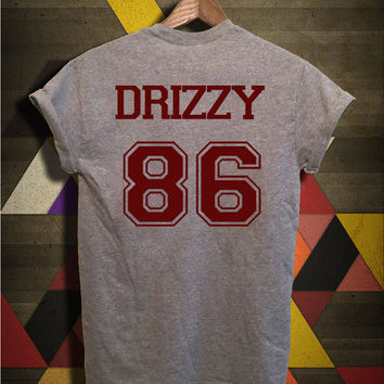 Drake Drizzy Shirt Drizzy 86 Tshirt Grey Color Unisex Size - 050